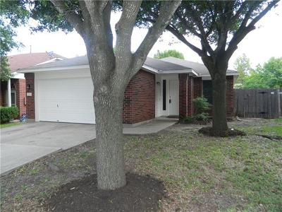 Pflugerville Single Family Home For Sale: 1108 Coaches Xing