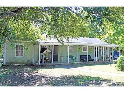 Lockhart Single Family Home For Sale: 806 Plum St