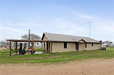 Menard County, Val Verde County, Real County, Bandera County, Gonzales County, Fayette County, Bastrop County, Travis County, Williamson County, Burnet County, Llano County, Mason County, Kerr County, Blanco County, Gillespie County Single Family Home For Sale: 145 Rohde Rd