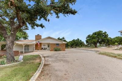 Horseshoe Bay Single Family Home For Sale: 3201 Oak Ridge Dr