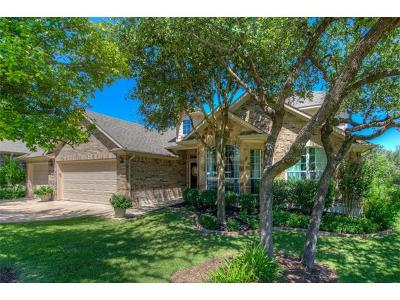 Leander Single Family Home Active Contingent: 1605 Lions Den