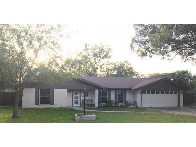 Lockhart Single Family Home Pending - Taking Backups: 1515 Twin Island Dr