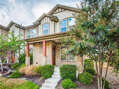 Round Rock Condo/Townhouse For Sale: 532 Lookout Tree Ln