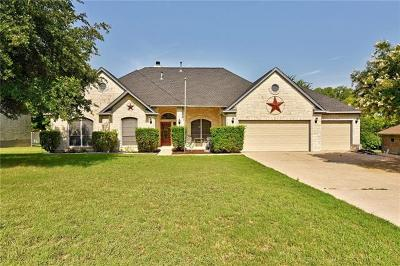 Round Rock Single Family Home For Sale: 1308 Huntington Trl