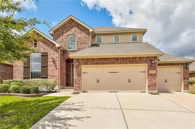 Cedar Park Single Family Home Pending - Taking Backups: 1405 Rimstone Dr