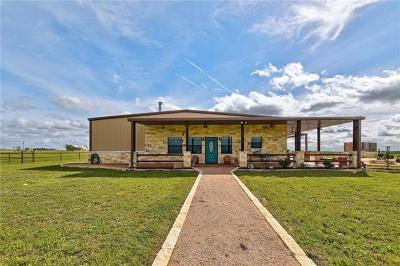 Burnet County Single Family Home For Sale: 449 County Road 213