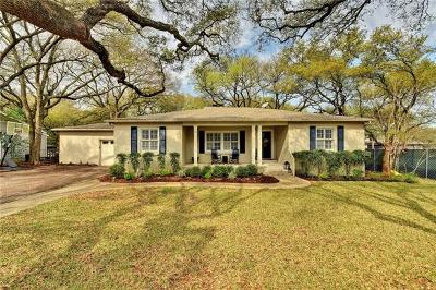 West Lake Hills TX Single Family Home Pending - Taking Backups: $995,000