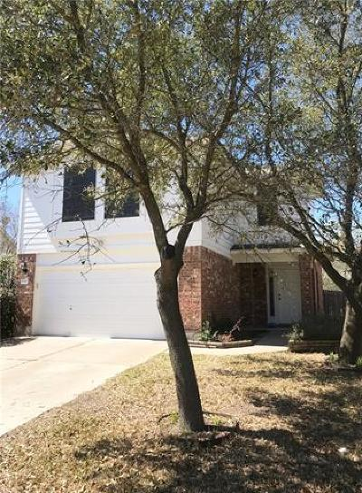 Round Rock Rental For Rent: 17306 Toyahville