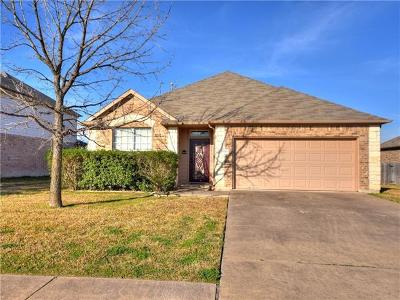 Pflugerville Single Family Home Pending - Taking Backups: 21008 Penny Royal Dr