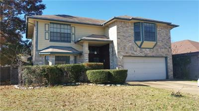 Leander Single Family Home For Sale: 501 Eaglecreek Dr