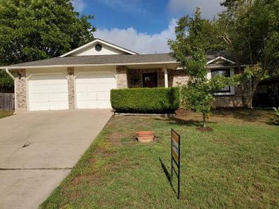 Pflugerville Single Family Home For Sale: 500 Sage Boot Dr