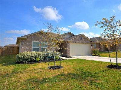 Hutto Single Family Home Pending - Taking Backups: 145 Leon River Loop
