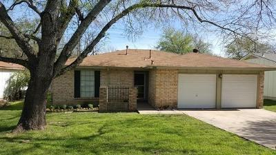 Round Rock Rental For Rent: 817 Cactus Dr