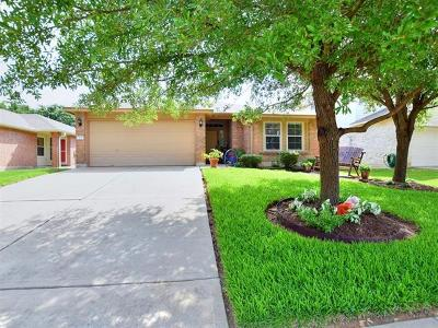 Round Rock Single Family Home Pending - Taking Backups: 3731 Castle Rock Dr