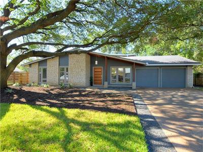 Travis County, Williamson County Single Family Home Pending - Taking Backups: 2603 Roxmoor Dr