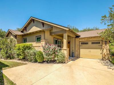 Austin Single Family Home For Sale: 14501 Falcon Head Blvd #24