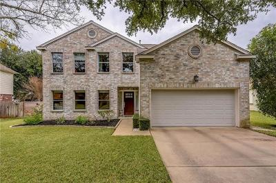 Cedar Park Single Family Home For Sale: 1010 Timber Trl