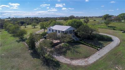 Hutto Single Family Home For Sale: 355 County Road 139
