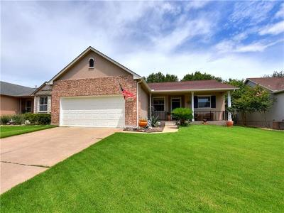Georgetown Single Family Home For Sale: 272 Red Poppy Trl