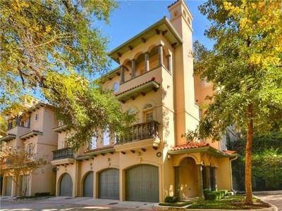 Austin Condo/Townhouse For Sale: 1529 Barton Springs Rd #16