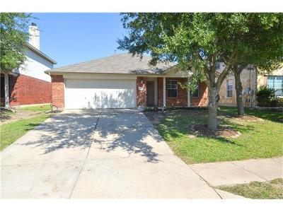 Pflugerville Single Family Home For Sale: 4000 Rocky Shore Ln