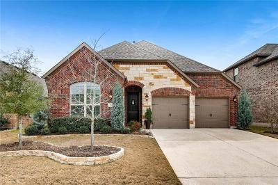 Leander Single Family Home For Sale: 512 Mistflower Springs Dr