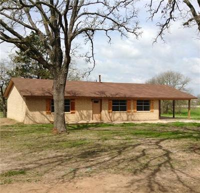 Giddings Single Family Home Pending - Taking Backups: 221 Mayer Lane