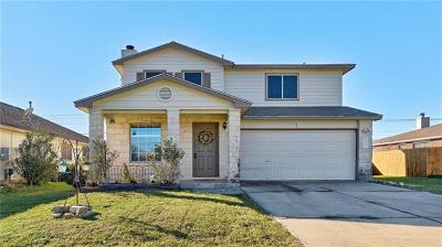 Hutto Single Family Home For Sale: 140 Paige Bnd