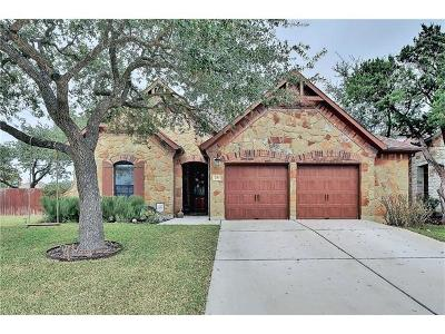 Cedar Park Single Family Home Pending - Taking Backups: 2311 Brownstone Ln