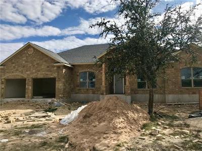 Burnet Single Family Home For Sale: 109 Travis Trl