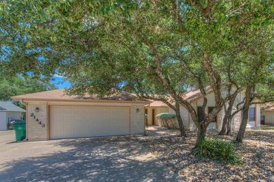 Lago Vista Single Family Home For Sale: 21443 Lakefront Dr