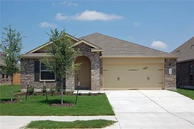 Leander Single Family Home For Sale: 837 Hillrose Dr