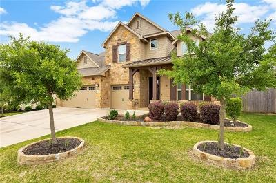 Round Rock Single Family Home For Sale: 4212 Pebblestone Trl