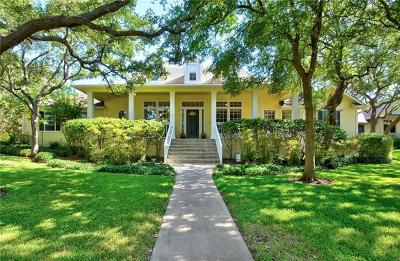 Austin Single Family Home For Sale: 6624 Hot Springs Dr