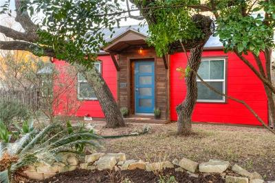 Hays County, Travis County, Williamson County Single Family Home Pending - Taking Backups: 1201 Bouldin Ave