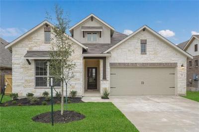 Leander Single Family Home For Sale: 532 Peregrine Way