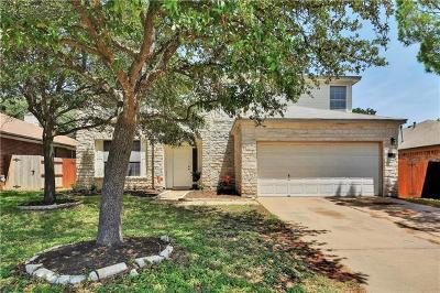 Cedar Park Single Family Home For Sale: 1302 Meghan Dr