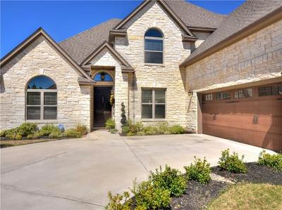 Round Rock Single Family Home For Sale: 1012 Fazio Cv