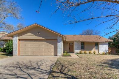 Austin Single Family Home For Sale: 2104 Singletree Ave