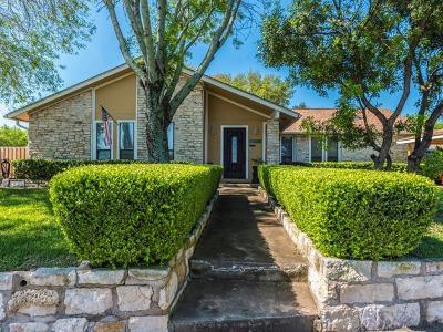 Round Rock Single Family Home Pending - Taking Backups: 3701 Hillside Dr