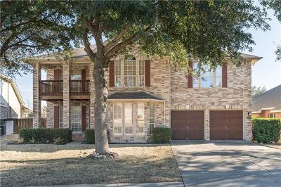 Round Rock Single Family Home For Sale: 4019 Galena Hills Dr