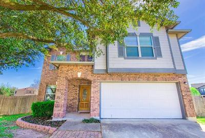 Del Valle Single Family Home Active Contingent: 5341 Mathra Dr