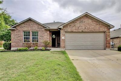 Pflugerville  Single Family Home For Sale: 20525 Buteo St