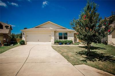 Bastrop Single Family Home Pending - Taking Backups: 324 Wild Cat Dr