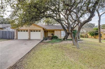 Cedar Park Single Family Home For Sale: 2307 Dijon Dr
