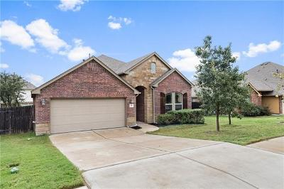 Leander Single Family Home For Sale: 516 Cerezo Dr
