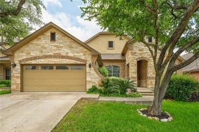 Round Rock Single Family Home For Sale: 3956 Sapphire Loop