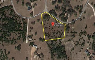 Liberty Hill Residential Lots & Land For Sale: 169 High River Ranch Dr