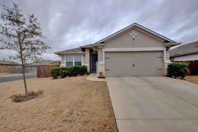 Pflugerville Single Family Home Pending - Taking Backups: 16829 Bridgefarmer Blvd
