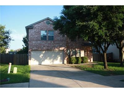 Round Rock Single Family Home For Sale: 1005 Collie Path